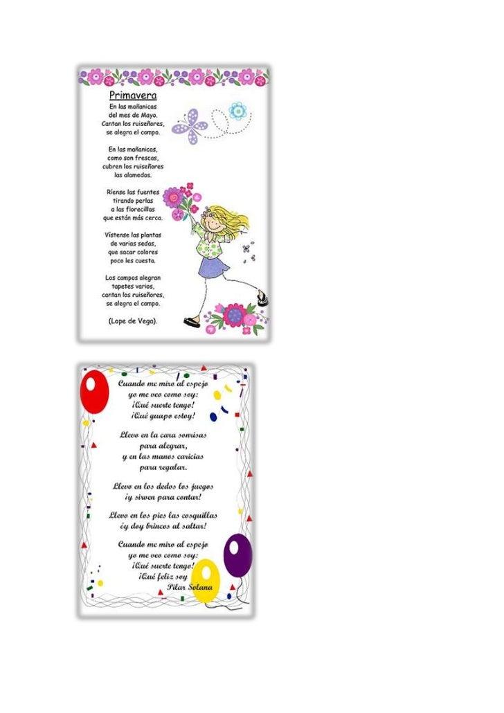 2. Escoge cualquiera de los poemas y léelo en voz alta, tratando de interpretar el poema   a modo personal.3. Responde las...