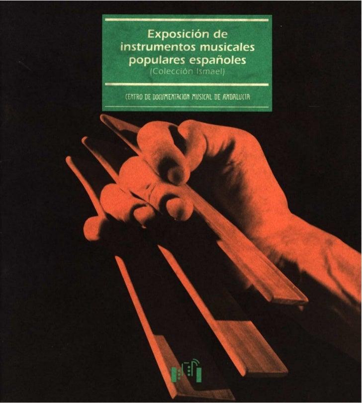 Instrumentos musicales populares españoles