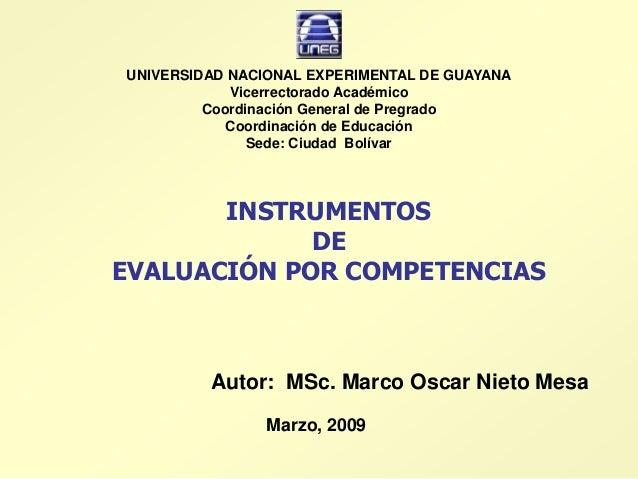 UNIVERSIDAD NACIONAL EXPERIMENTAL DE GUAYANA            Vicerrectorado Académico         Coordinación General de Pregrado ...