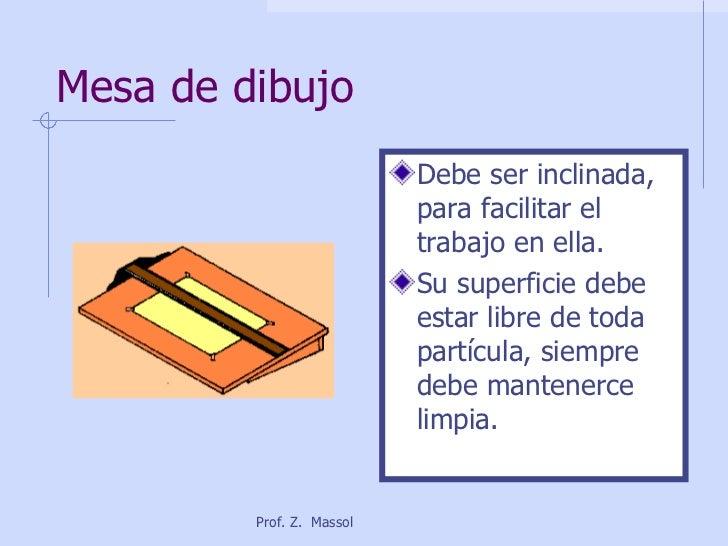 Instrumentos de dibujo t cnico - Mesa de dibujo tecnico ...