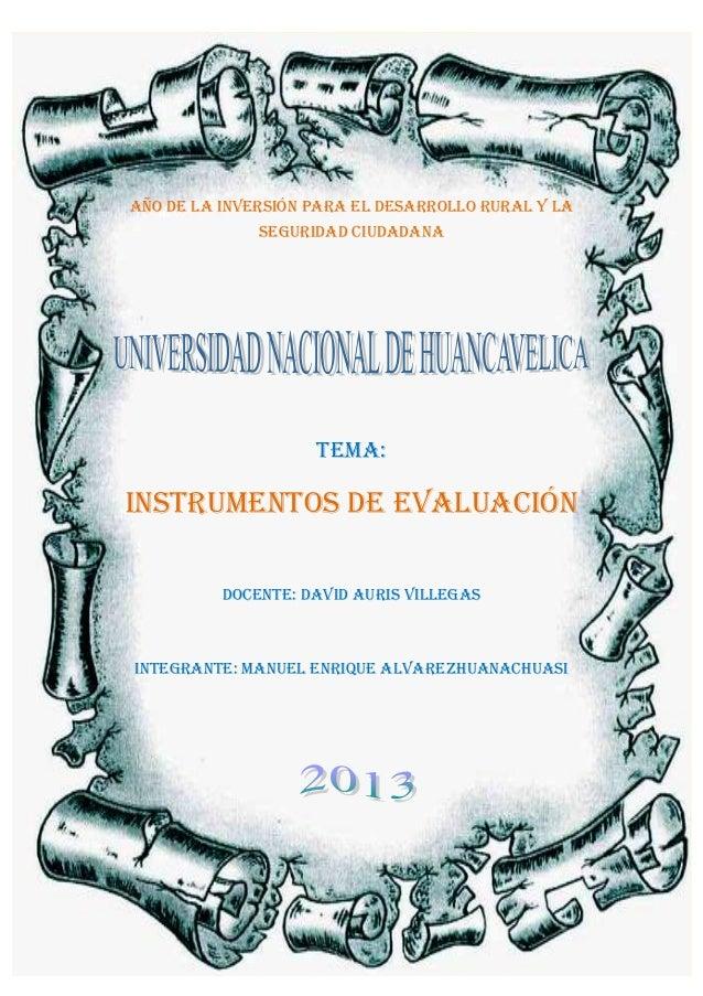 """""""Año de la Inversión para el Desarrollo Rural y la Seguridad Alimentaria."""" Davidauris@gmail..com Página 1 AÑO DE la invers..."""