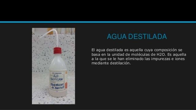 Instrumentos de laboratorio aqi for Que es agua destilada