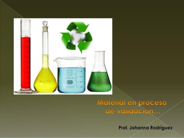 Instrumentos de laboratorio y el reciclaje