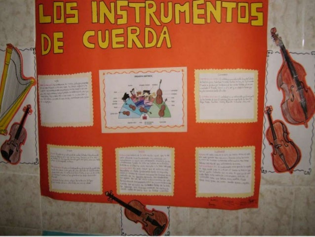 Instrumentos de la orquesta sexto epo
