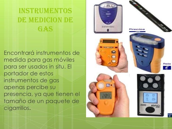 INSTRUMENTOS    DE MEDICION DE         GASEncontrará instrumentos demedida para gas móvilespara ser usados in situ. Elport...
