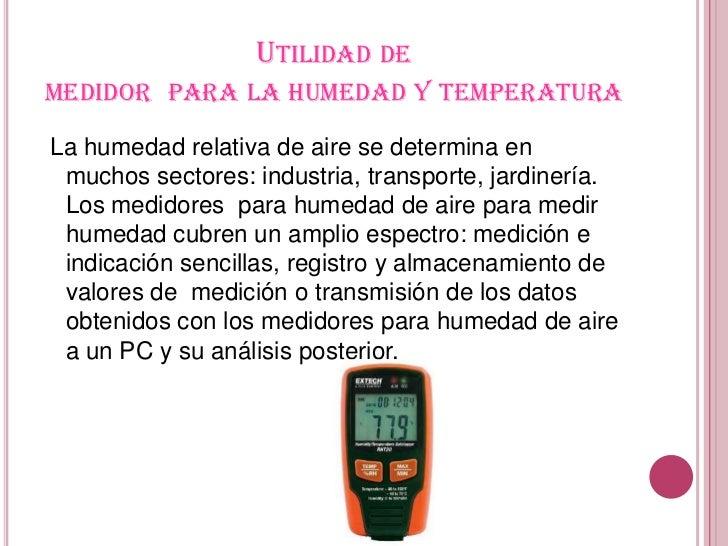 Instrumentos de medida humedad y clima - Aparato para quitar la humedad ...