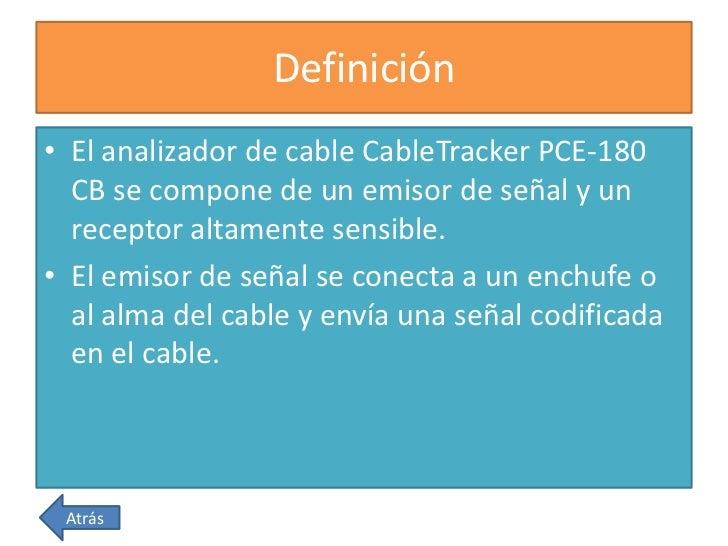 Instrumentos de medida de electricidad - Cables de electricidad ...