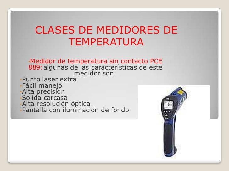 Instrumentos de medida de temperatura 1 - Medidor de temperatura ...