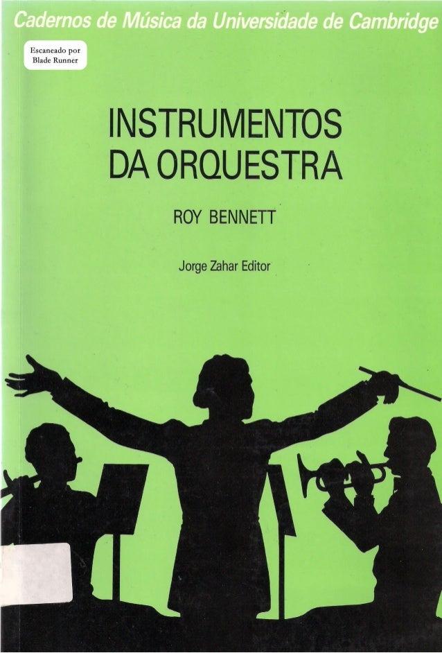 Instrumentos de orquestra   cadernos de música da universidade de cambridge