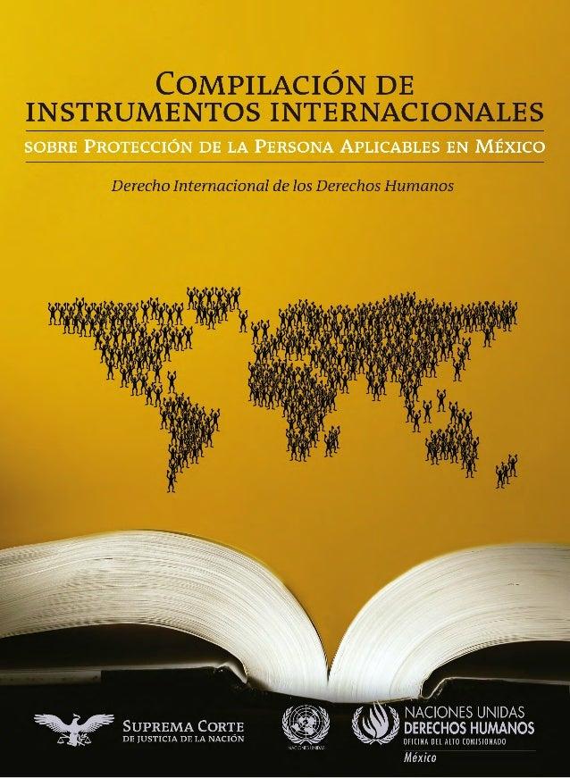 Sistema Bibliotecario de la Suprema Corte de Justicia de la Nación Catalogación PO D150.113 C656c  Compilación de instrume...
