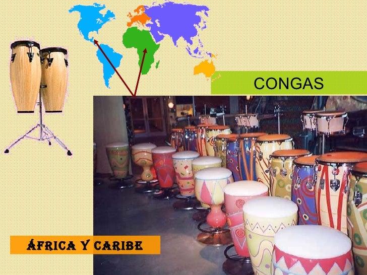 CONGAS África y Caribe