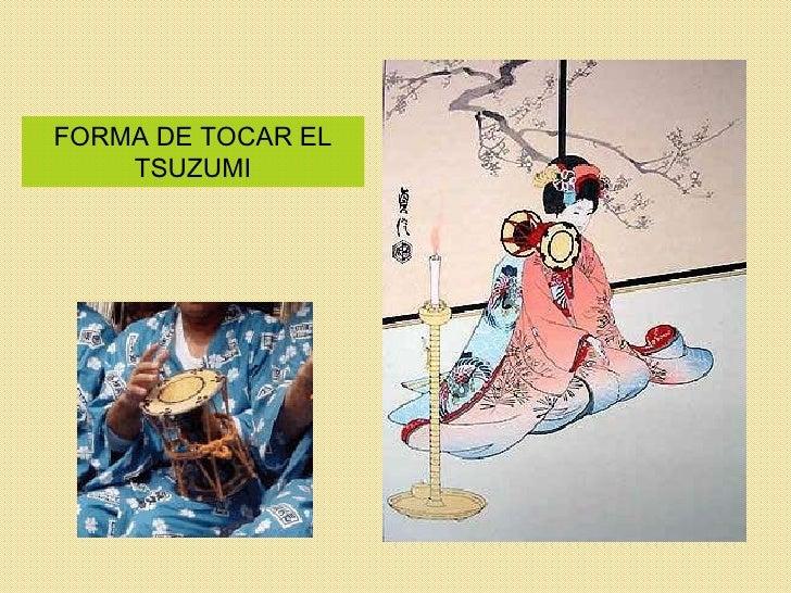 FORMA DE TOCAR EL TSUZUMI