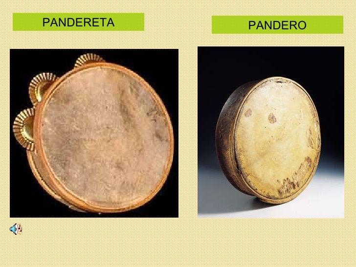 PANDERETA PANDERO