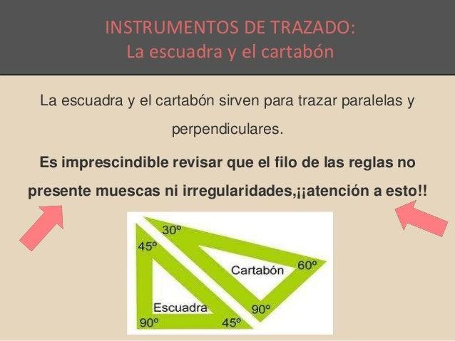 Instrumentos para el dibujo tcnico