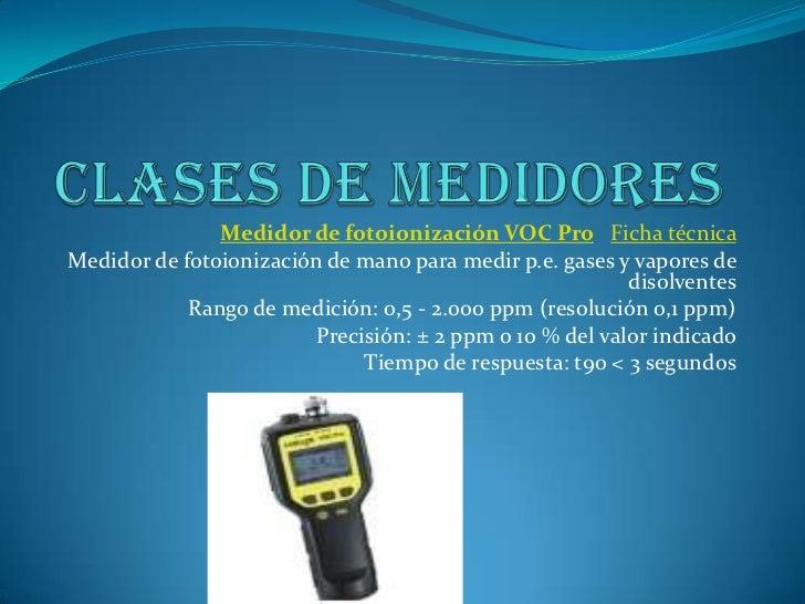 Instrumentos para medidar gas for Medicion de gas radon