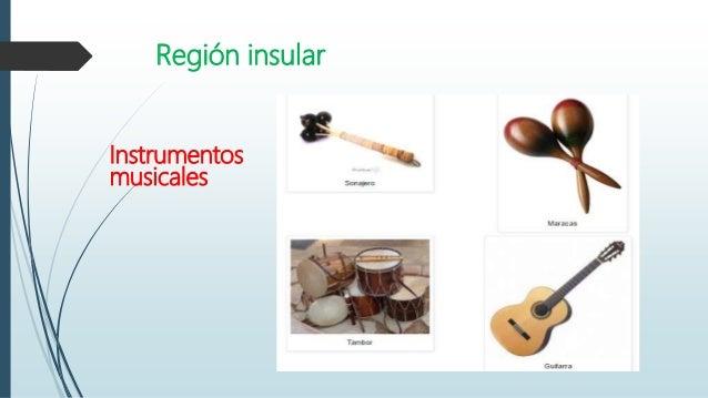 Instrumentos Y Ritmos Folclóricos De Las Regiones