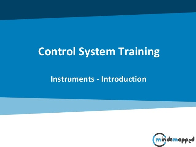 Control System Training Instruments - Introduction