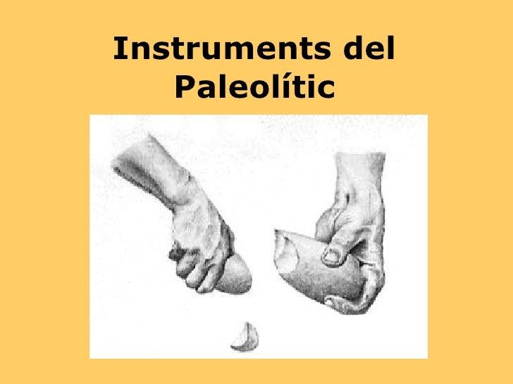 Instruments del Paleolític