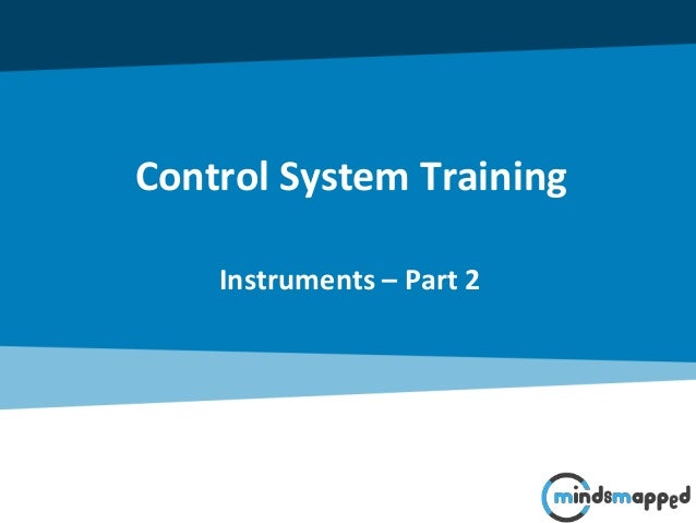 Control System Training Instruments – Part 2