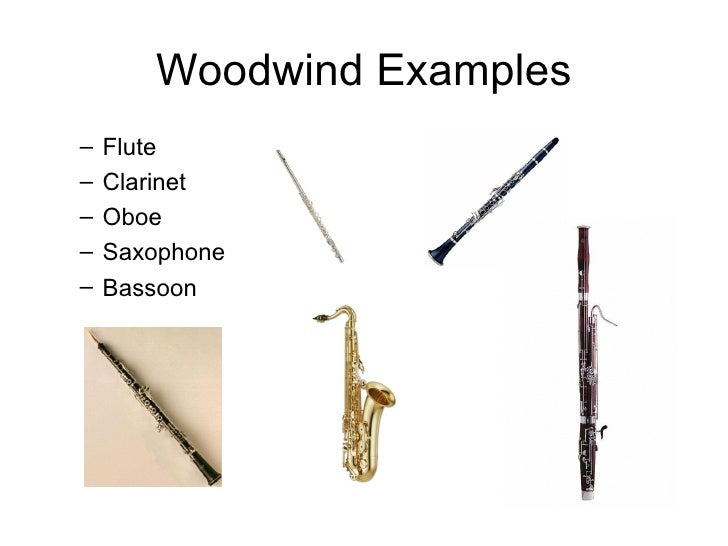 Woodwind family instruments woodwind family - Instruments Of The Orchestra