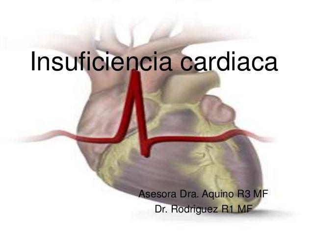 Insuficiencia cardiaca  Asesora Dra. Aquino R3 MF  Dr. Rodriguez R1 MF