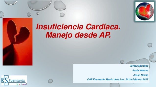 Insuficiencia cardiaca: Manejo desde AP