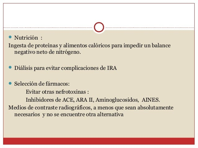Insuficiencia renal aguda for Alimentos prohibidos para insuficiencia renal