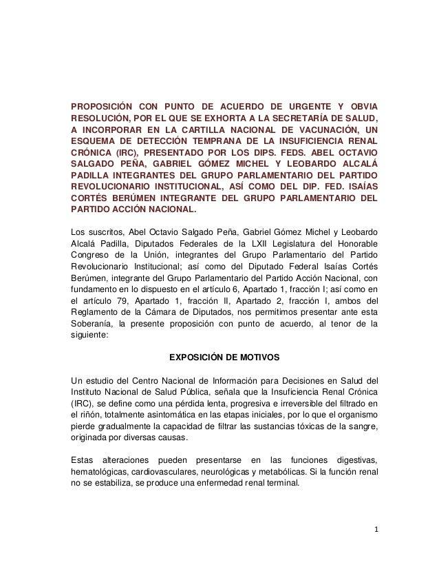PROPOSICIÓN CON PUNTO DE ACUERDO DE URGENTE Y OBVIA RESOLUCIÓN, POR EL QUE SE EXHORTA A LA SECRETARÍA DE SALUD, A INCORPOR...