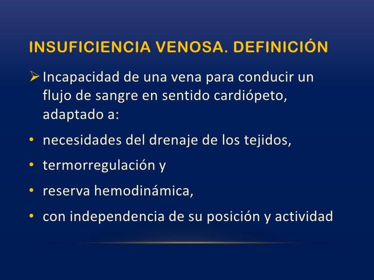 Insuficiencia venosa Slide 3