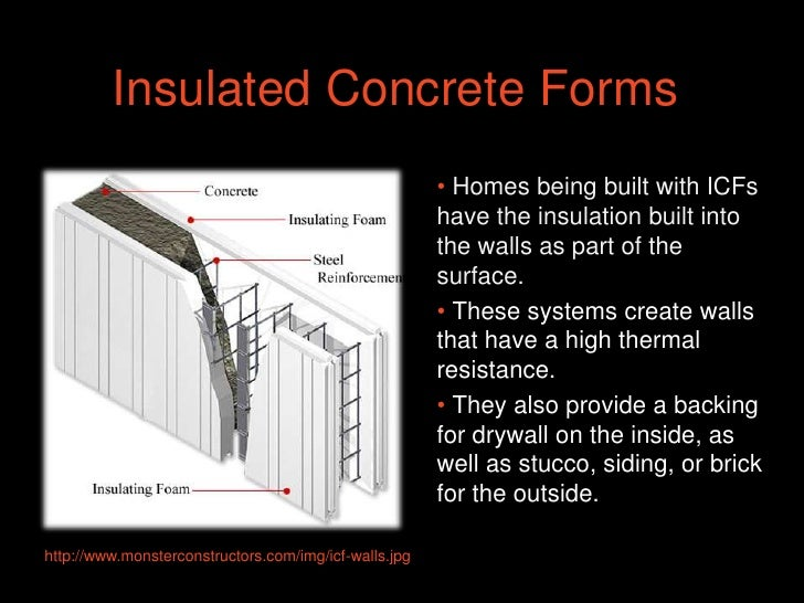 insulated concrete forms disadvantages