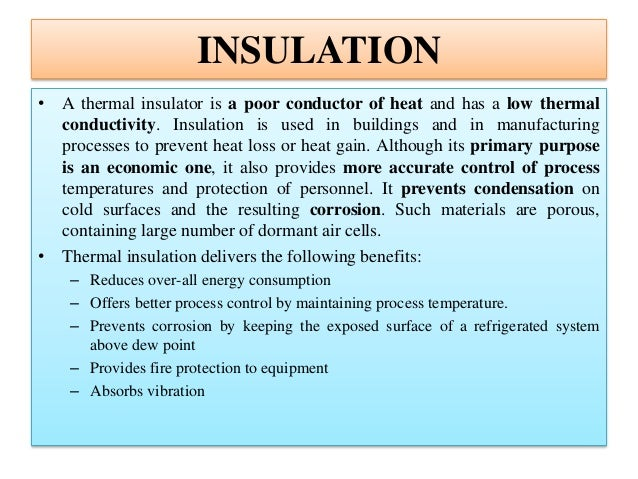 Insulation and refractory basics by Varun Pratap Singh