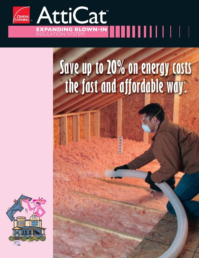 Owens Corning Atticat Expanding Blown In Insulation System