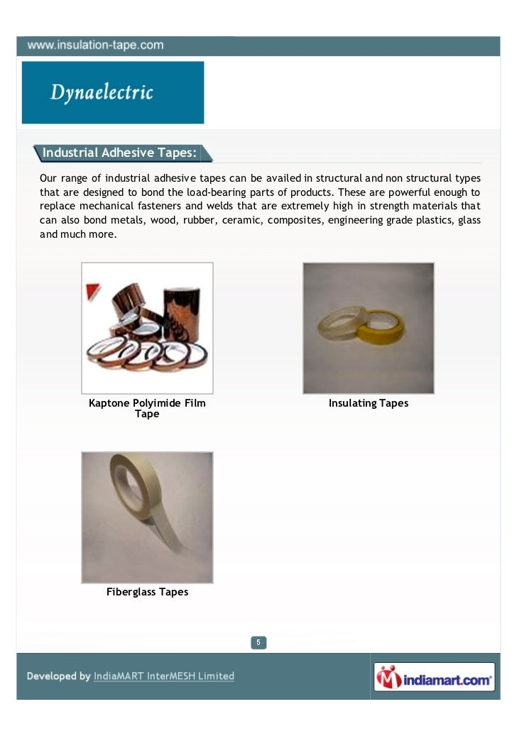 Industrial Adhesive Tapes:Our range of industrial adhesive tapes can be availed in structural and non structural typesthat...