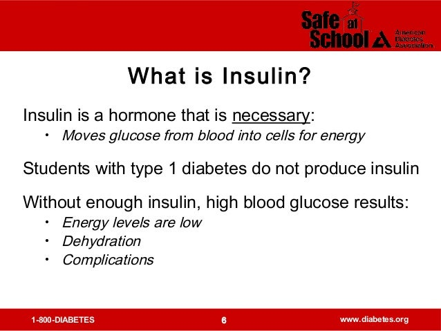 how to tell when insulin is low