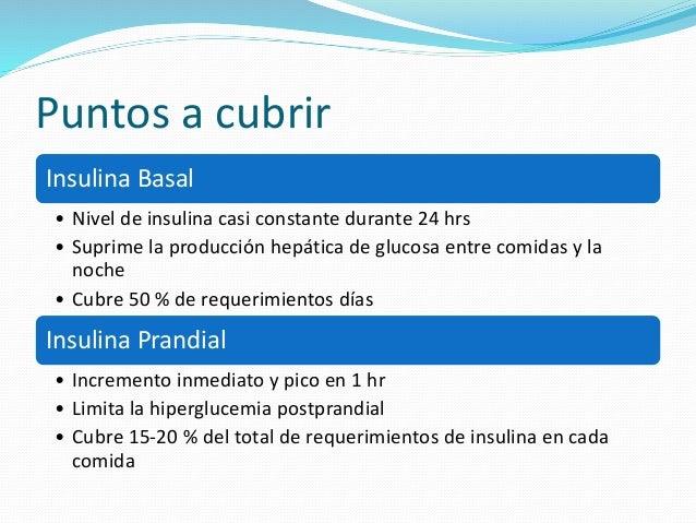 Insulinas (Insulinoterapia) en Diabetes Mellitus