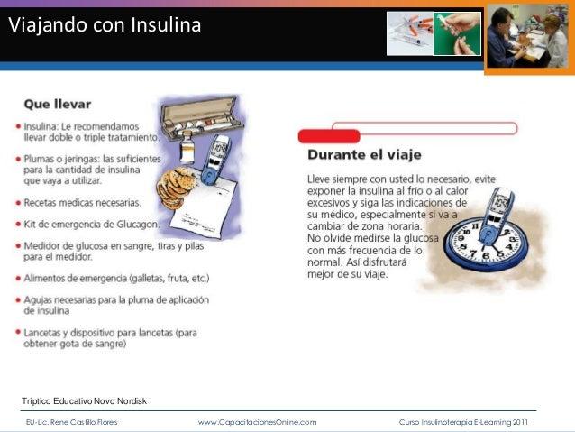 Insulina y enfermería. curso e learning insulinoterapia