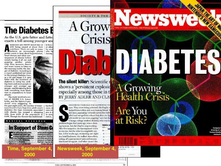Newsweek, September 4,<br /> 2000<br />Time, September 4, 2000<br />