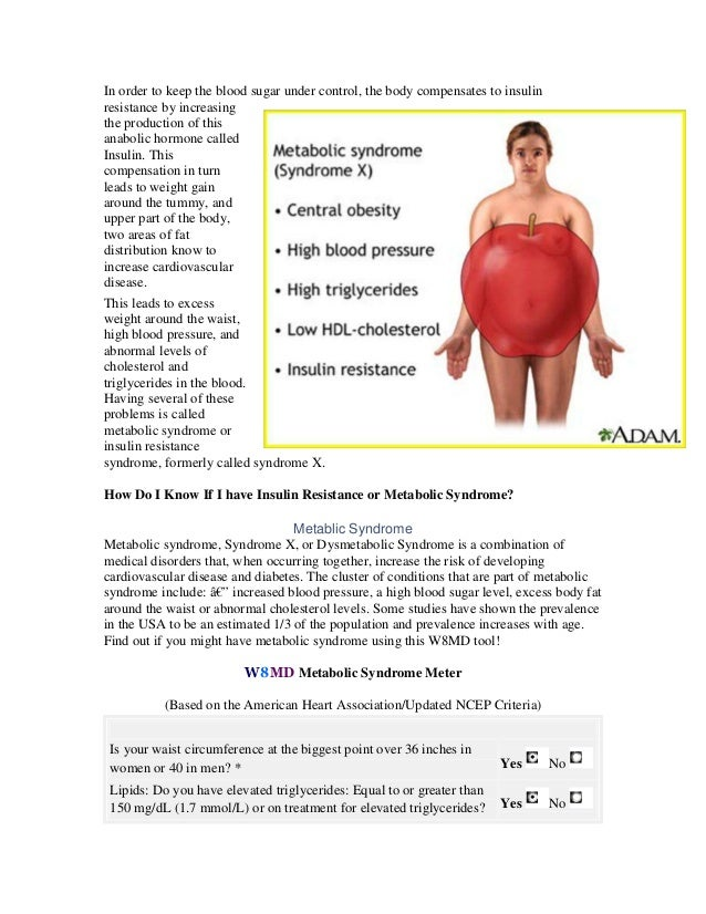Metabolism reverse insulin resistance and metabolic syndrome. reverse  metabolic syndrome