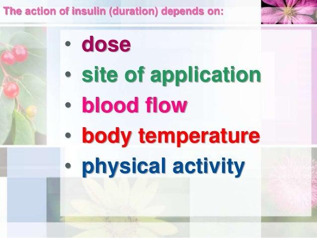 Insulin primary site