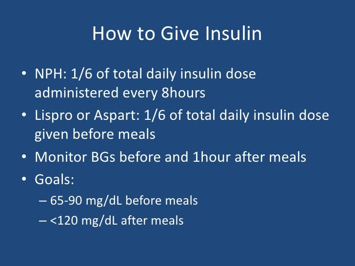 how to lose weight on insulin therapy