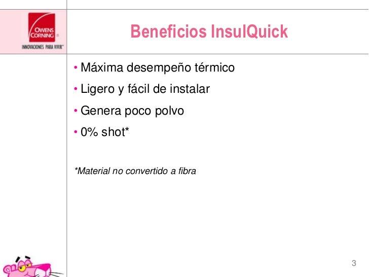 "Aislamiento para uso industrial ""Insulquick"" Slide 3"