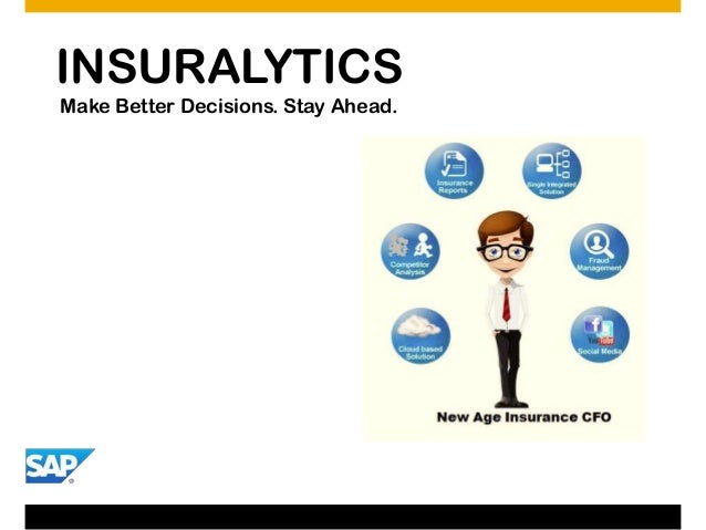 INSURALYTICS Make Better Decisions. Stay Ahead.
