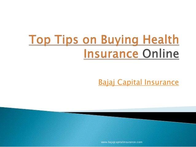 Bajaj Capital Insurance  www.bajajcapitalinsurance.com