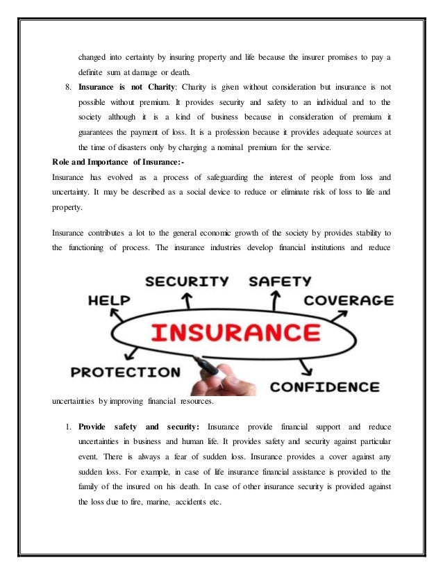 Insurance is not charity and gambling catalogue casino landivisiau