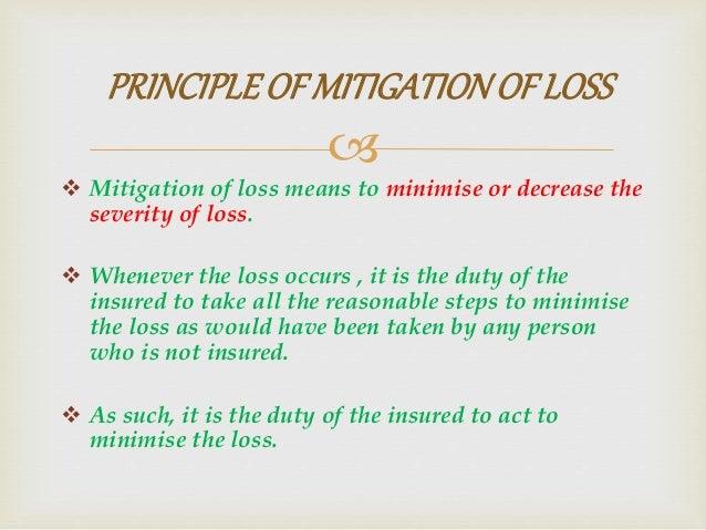 Principles of Insurance