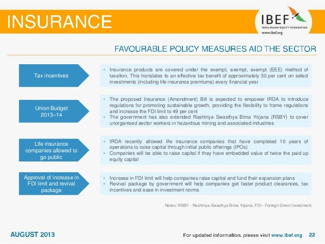 India Insurance Sector Report August 2013