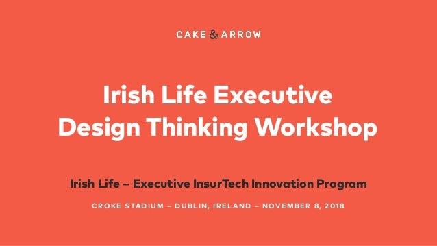 Design Thinking Workshop – Irish Life Executive Innovation