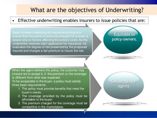 Insurance Underwriting