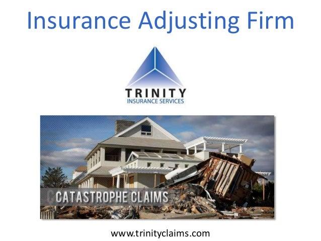Insurance Adjusting Firm www.trinityclaims.com