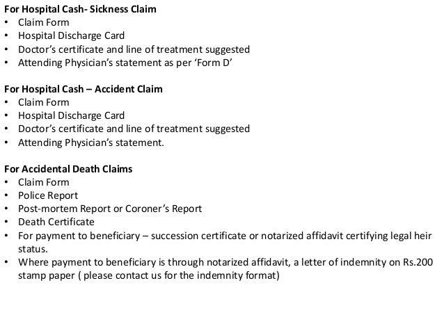 Insurance claims (RISK MANAGEMENT)